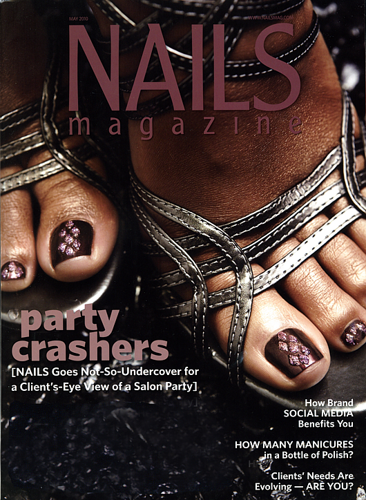 Nails Magazin Titelblatt